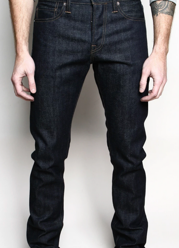 Slim Straight Jeans- 15oz Indigo