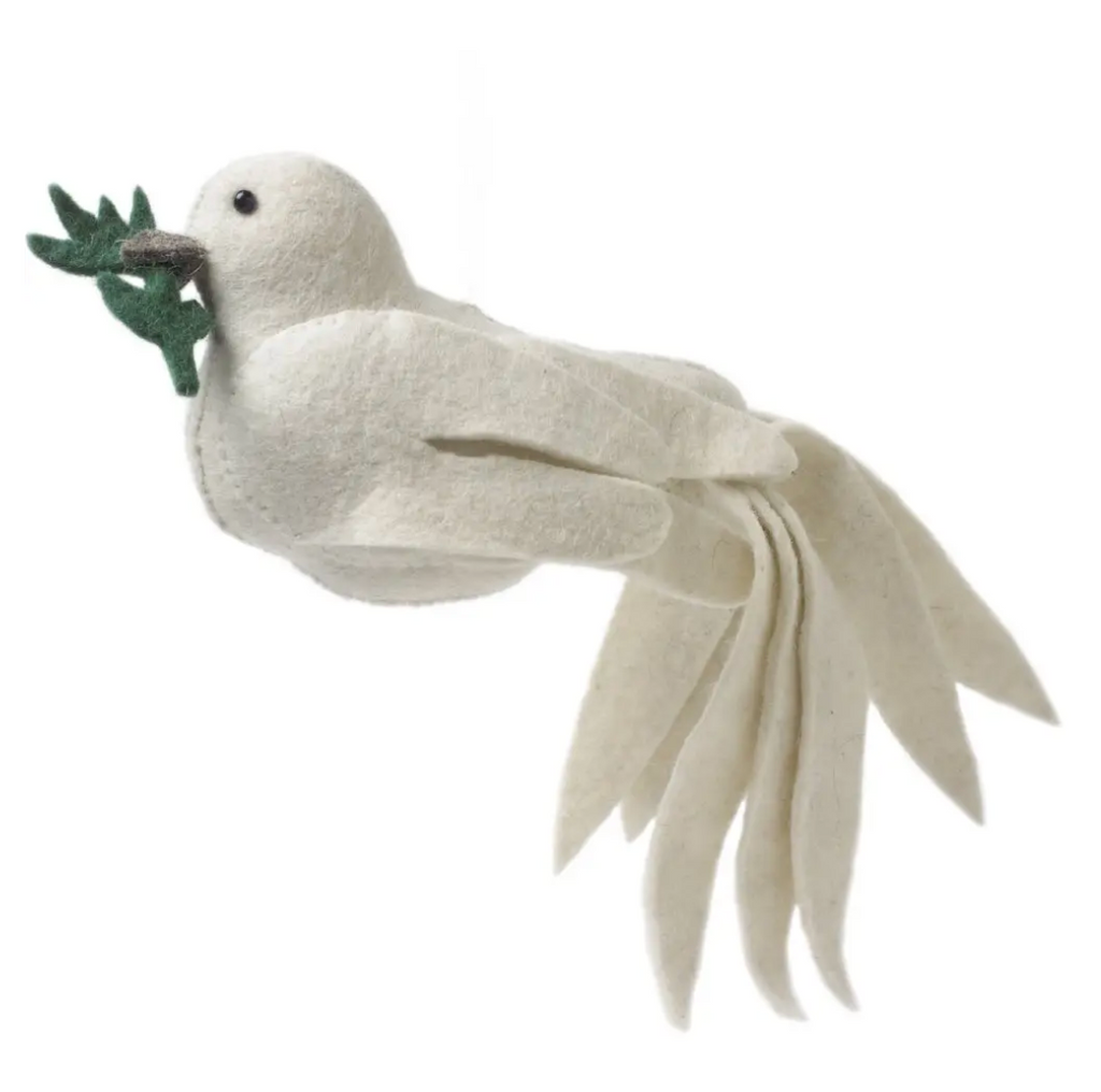 Dove Christmas Tree Topper