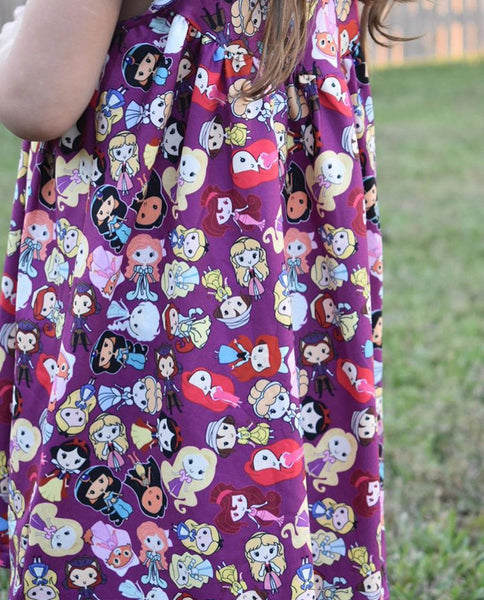 Princess Flutter Sleeve Dress