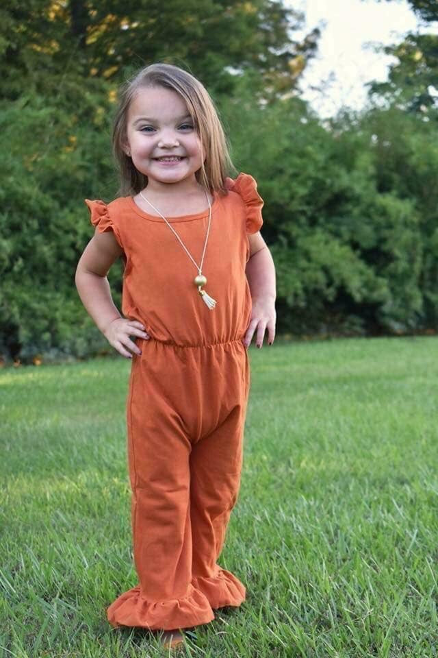 Pumpkin Jumpsuit (3m Only)