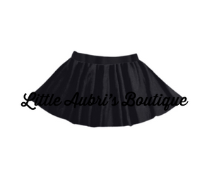 PREORDER Black Skirt w/ Built in Shorts CLOSES 3/29