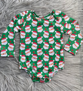 Santa Long Sleeve Leotard
