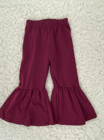 Plum Bell Bottoms