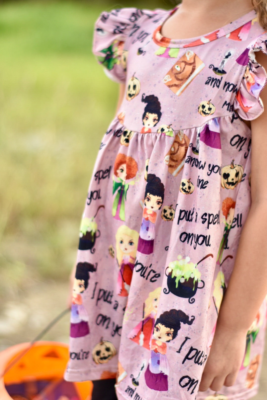 CUSTOM LISTING FOR VANESSA Hocus Pocus Tunic 6/7