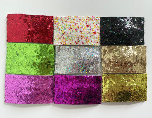 Single Glitter Snap Clip