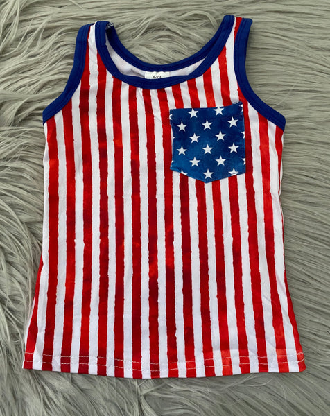 All American Pocket Tank Style 1