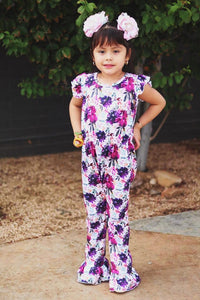 Autumn Blooming Floral Jumpsuit
