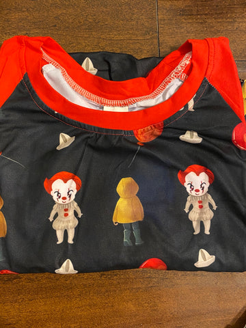 Clown Mommy Raglan (Size Down)