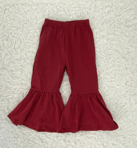 Wine Bell Bottoms