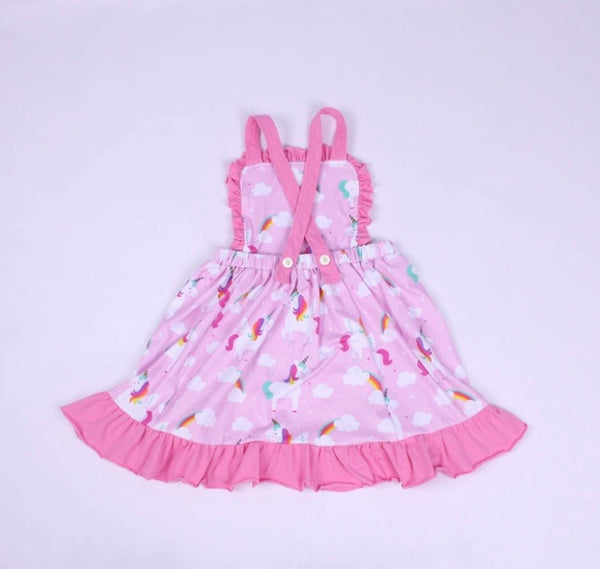 Unicorn Pinafore Dress