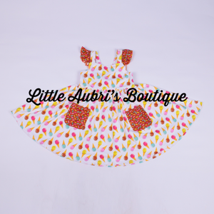 PREORDER Ice Cream Sundae Twirl Dress CLOSES 4/11