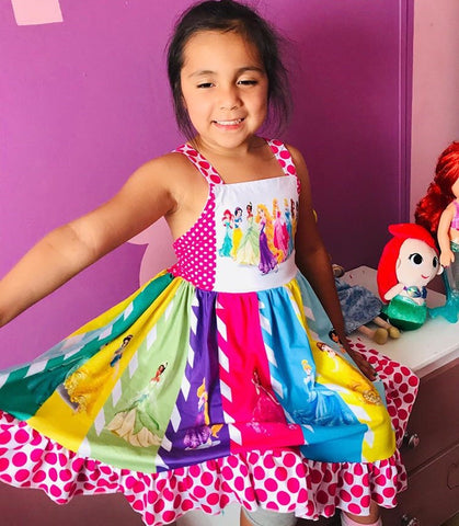 Princess Squad Twirl Dress