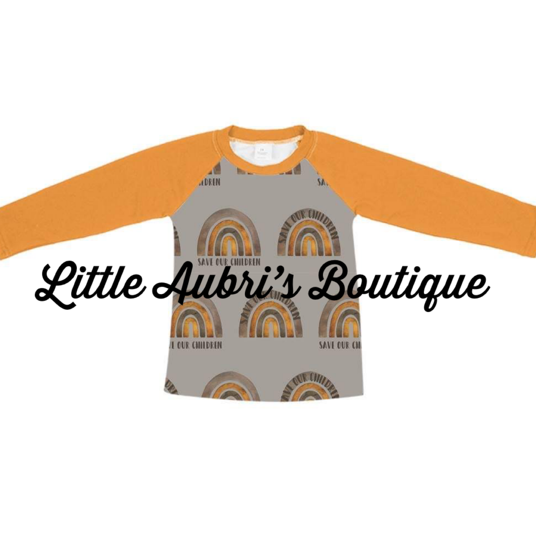 PREORDER Save Our Children Long Sleeve Mommy Raglan (Size Down) CLOSES 10/19
