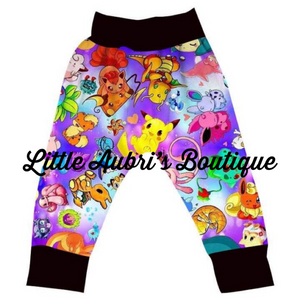 PREORDER Purple Pokemon Jogger Pants CLOSES 10/30