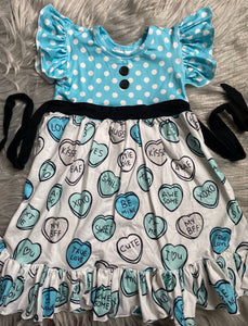 Be Mine Candy Hearts Dress