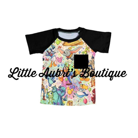 PREORDER Magic Castle Pocket Raglan CLOSES 5/22