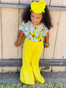 Yellow Bell Bottoms