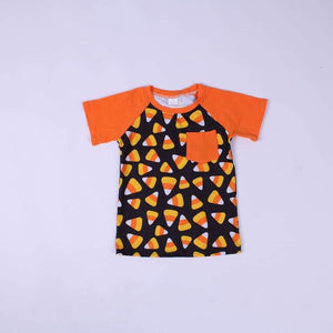Candy Corn Pocket Raglan