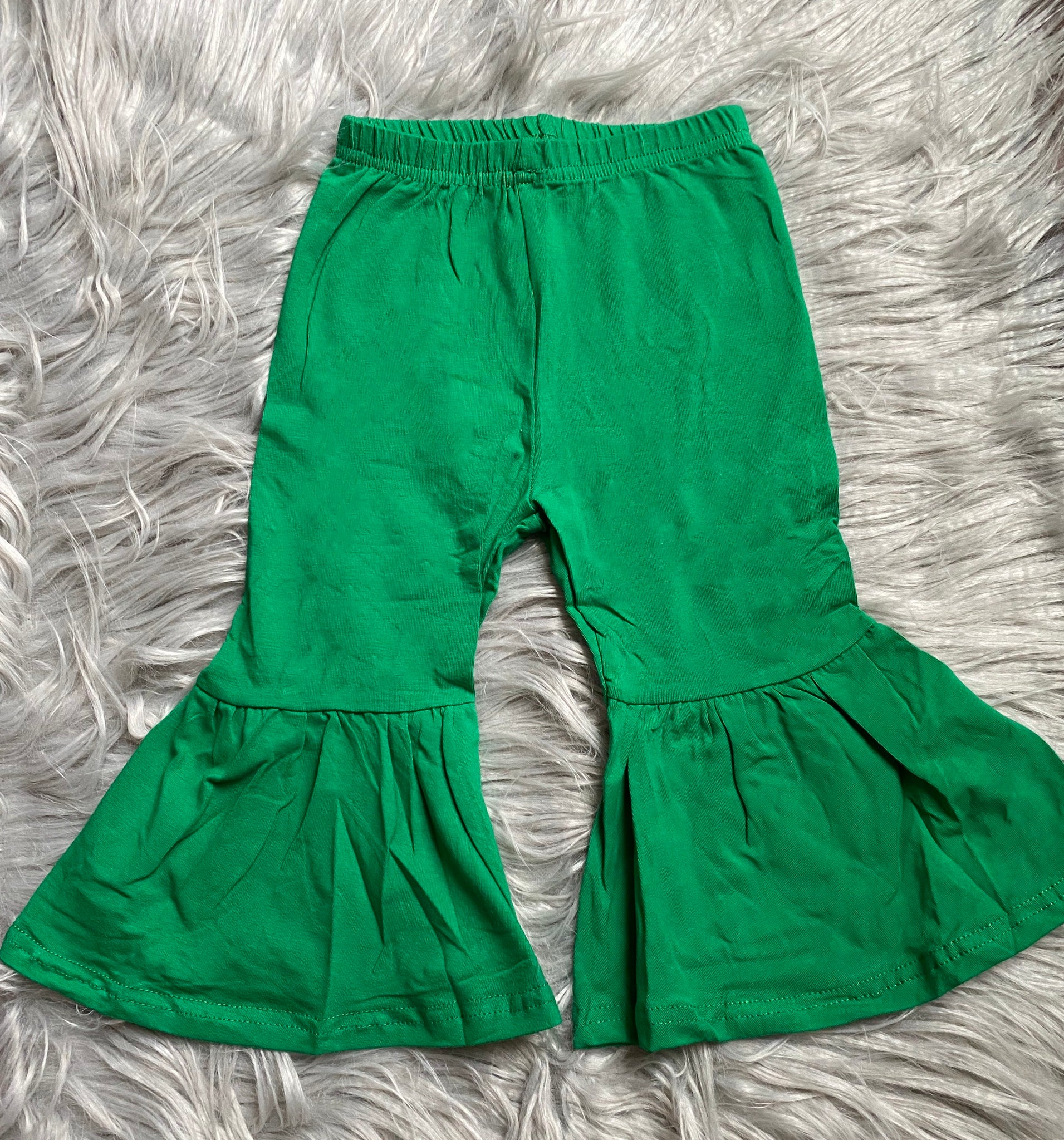 Green Bell Bottoms