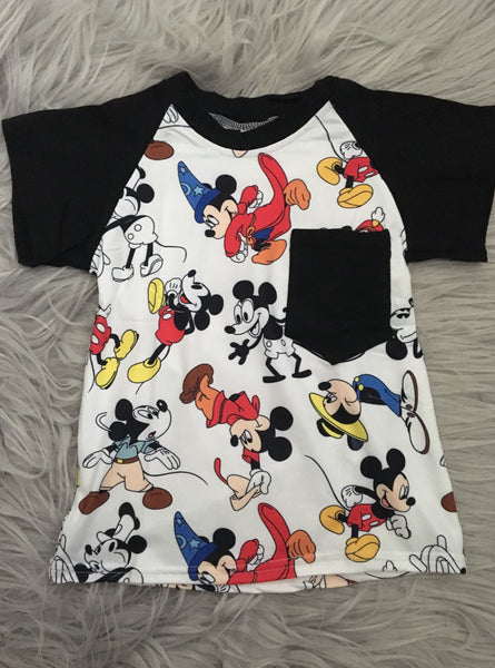 Magic Mouse Raglan