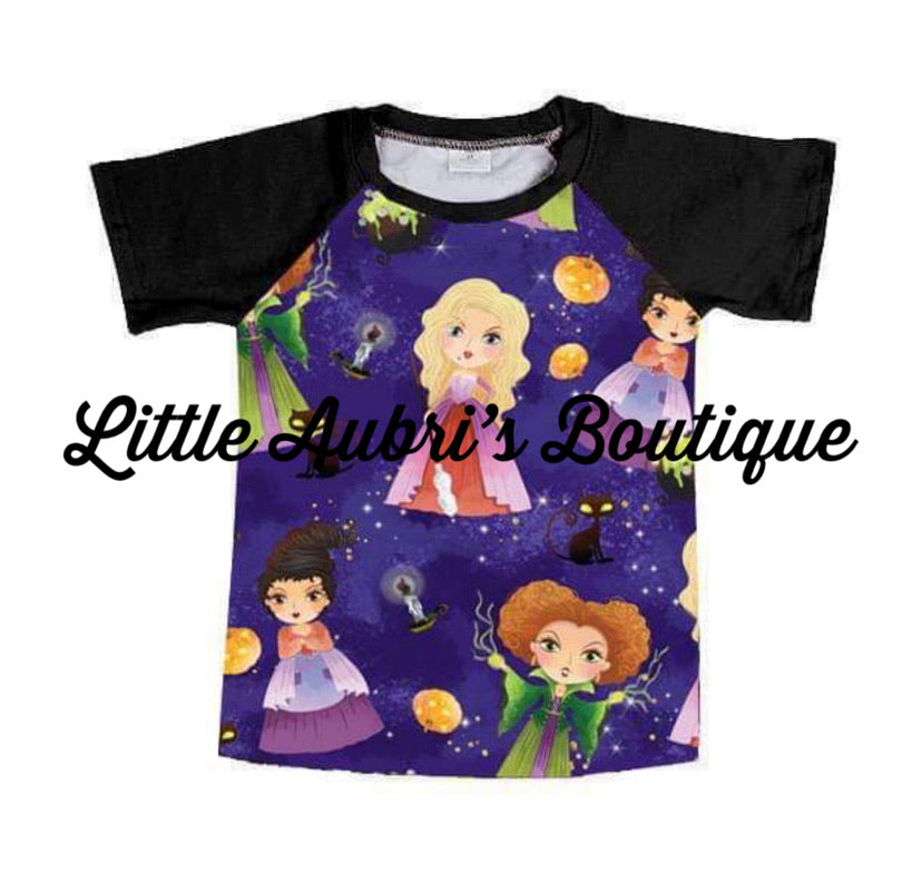 I Put a Spell on You Mommy Raglan (Size Down)
