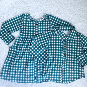 Evergreen Winter Buffalo Button Down Shirt
