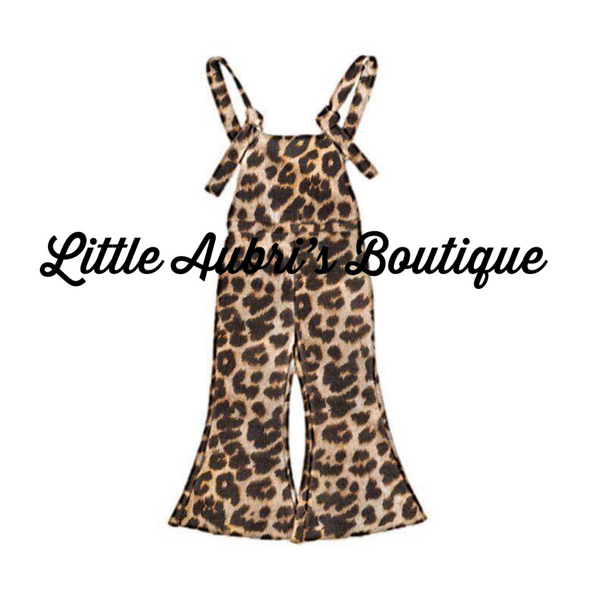 Knotted Jumpsuit (Leopard, Red, and Pink Option)