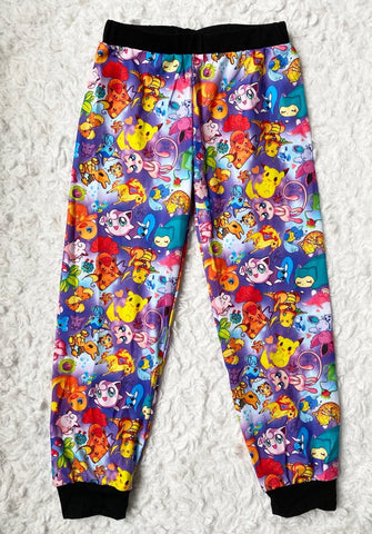 Purple Pokemon Joggers
