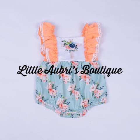 PREORDER Floral Sunday Best Bubble Romper CLOSES 4/11