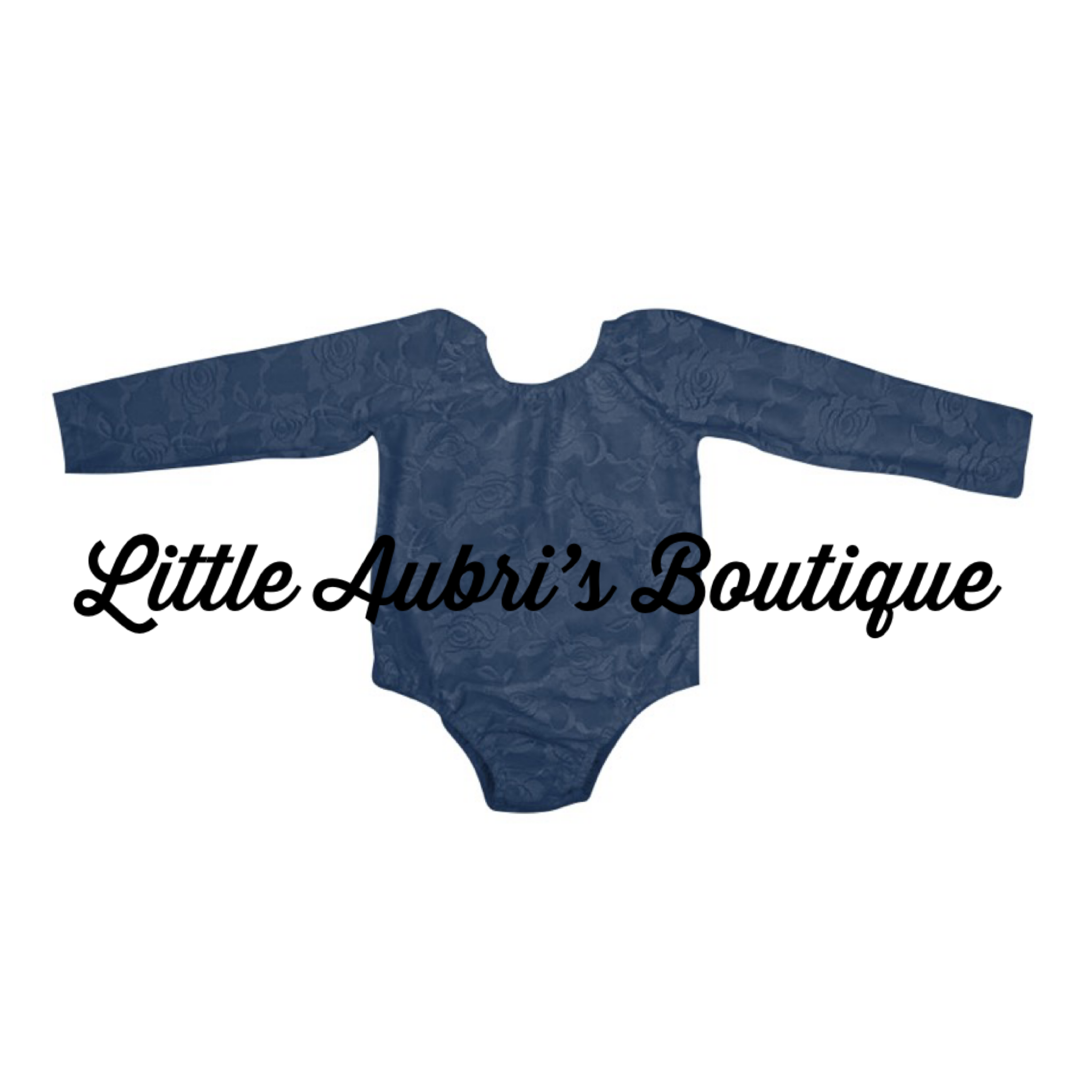 PREORDER Navy Lace Leotard (Fully Lined Body & Arms) CLOSES 10/8
