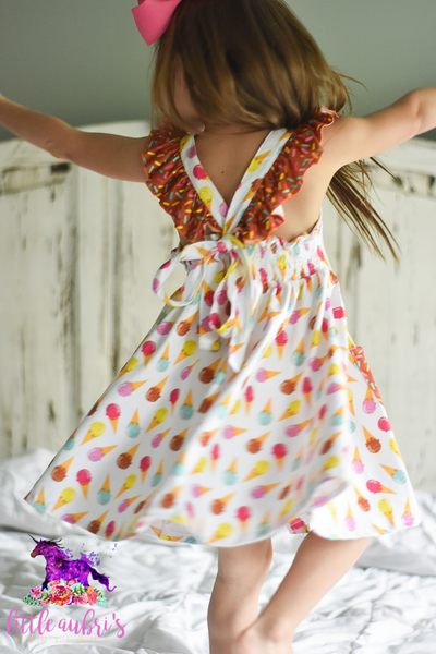 Ice Cream Sundae Twirl Dress