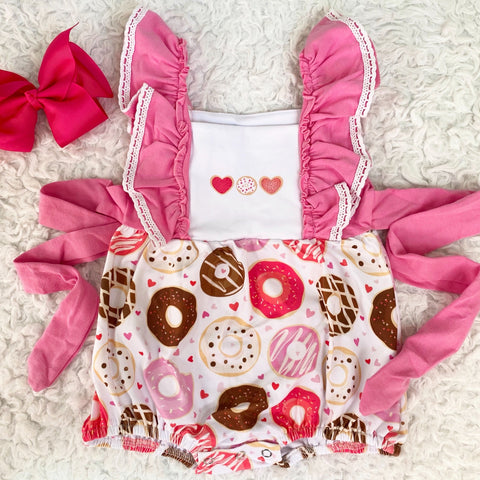 Donut Love Bubble Romper