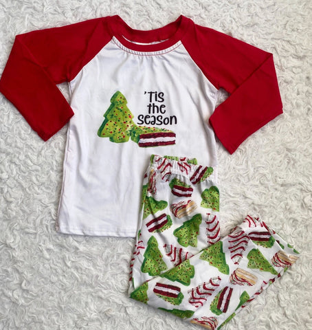 Lil Debbie Kid Top and Pajama Pants Set