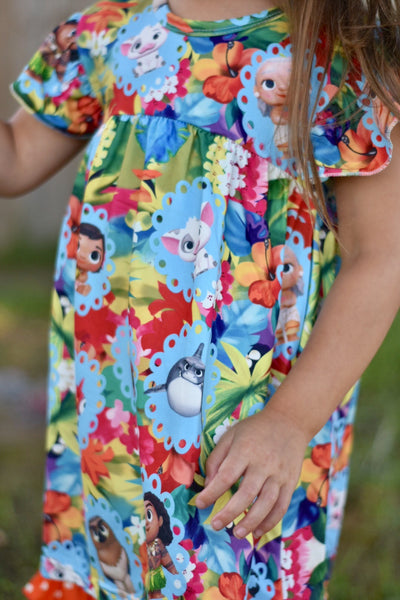 Island Princess Tunic/Short Set