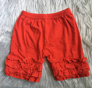 Red Icing Shorts