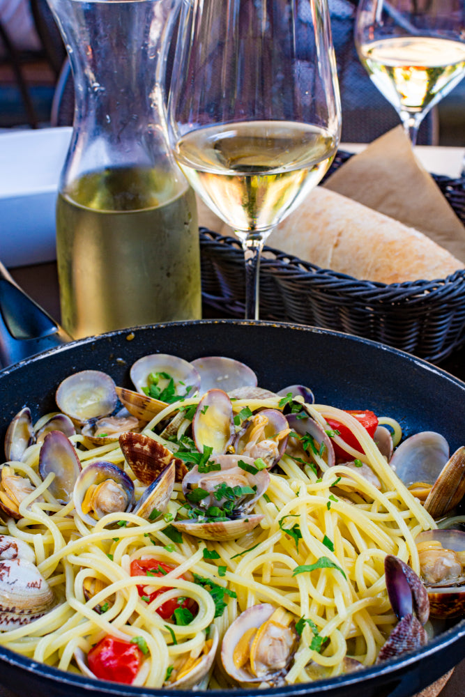 PASTA CON VONGOLE (submitted by Ray Comeau)