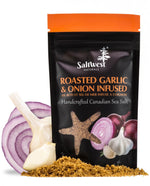 Saltwest Naturals Organic Roasted Garlic & Onion Sea Salt