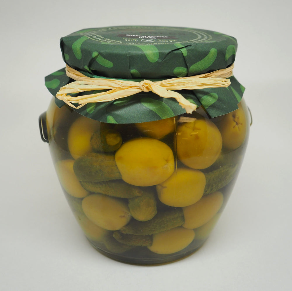 Gherkins Stuffed Olives