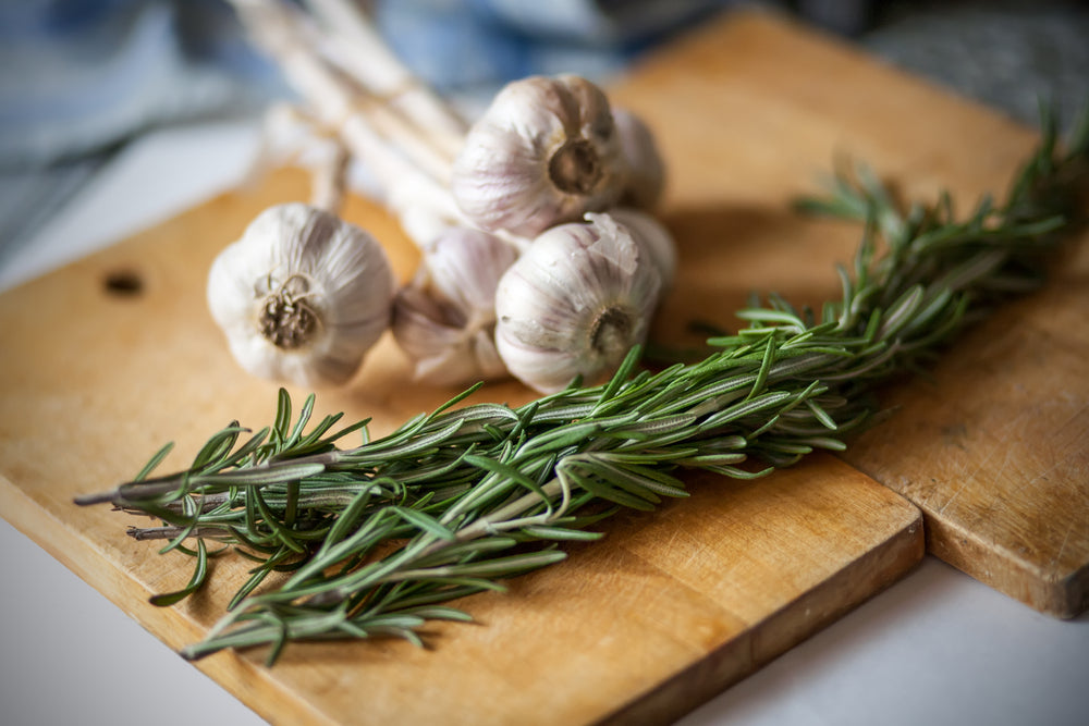 Rosemary Garlic Agrodolce