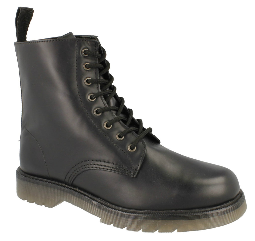 Mens Maverick Military Style Lace Up Boots