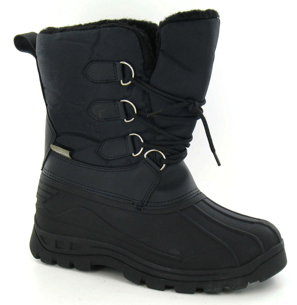 Ladies Lace Up Front Snow Boot
