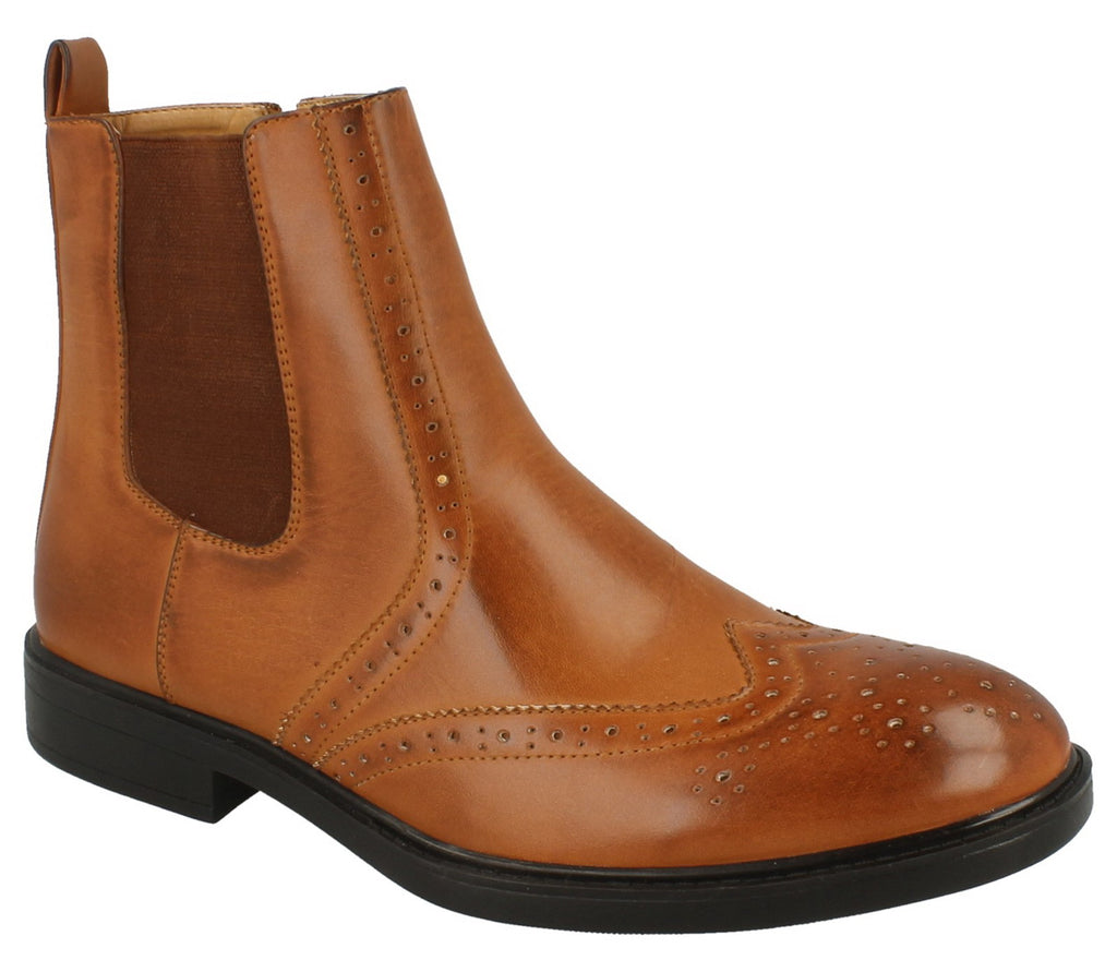 Mens Thomas Blunt Casual Ankle Boot