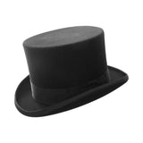 Black Wool Felt Top Hat