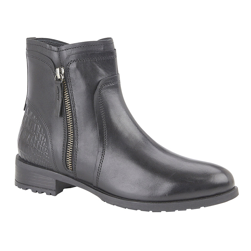 "Ladies Cipriata ""Denise"" Leather Ankle Boot"