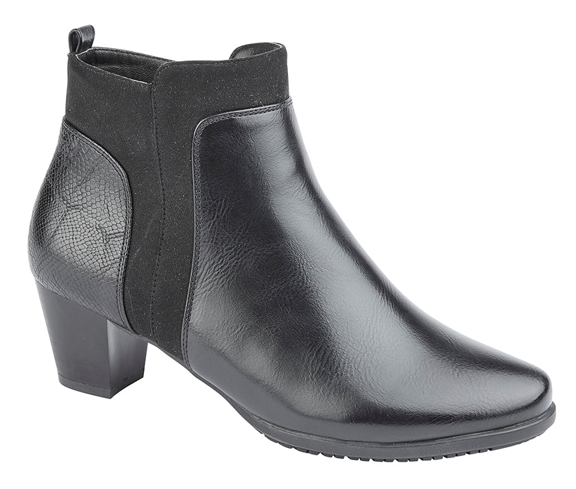 "Ladies PU Cipriata ""Carla"" Ankle Boot"