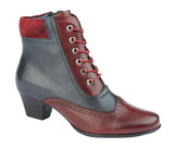 "Ladies Cipriata ""Lisa"" Leather Suede Ankle Boot"