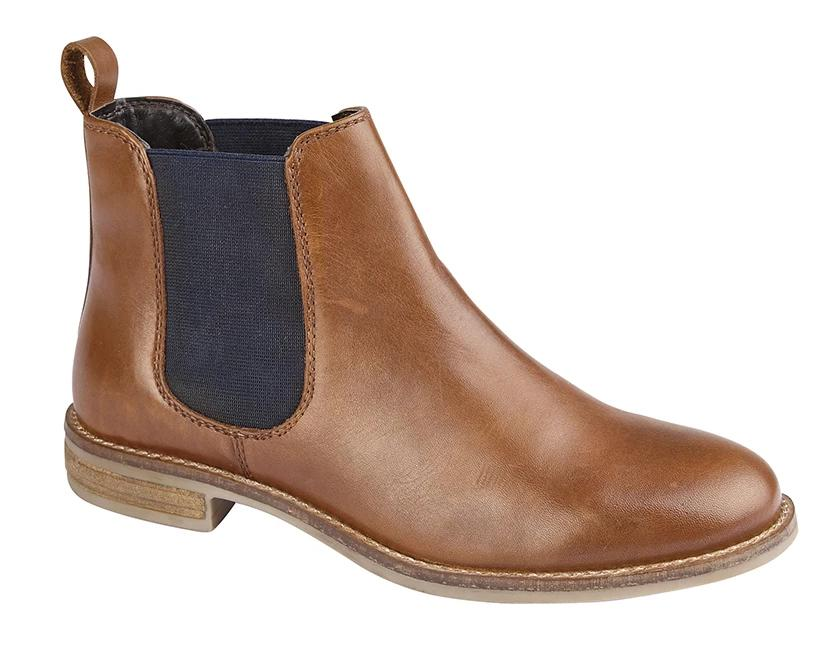 "Ladies Cipriata Twin Gusset Leather Boot ""Alexandra"""
