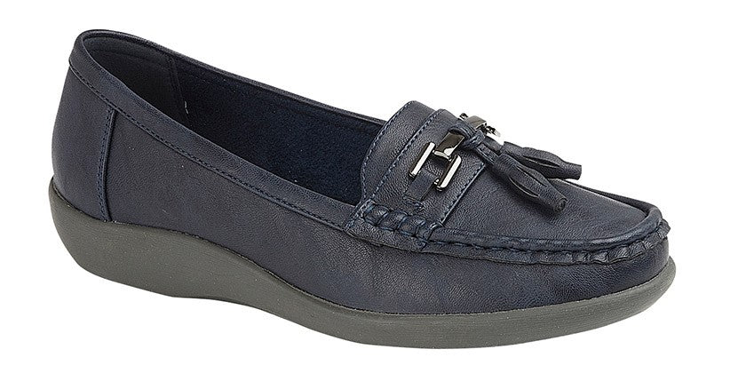 Womens Boulevard Tassle Loafer