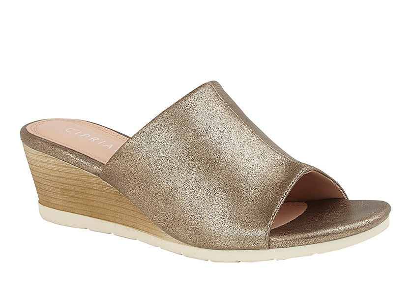 "Ladies Cipriata ""Dantina"" Wedge Mule"