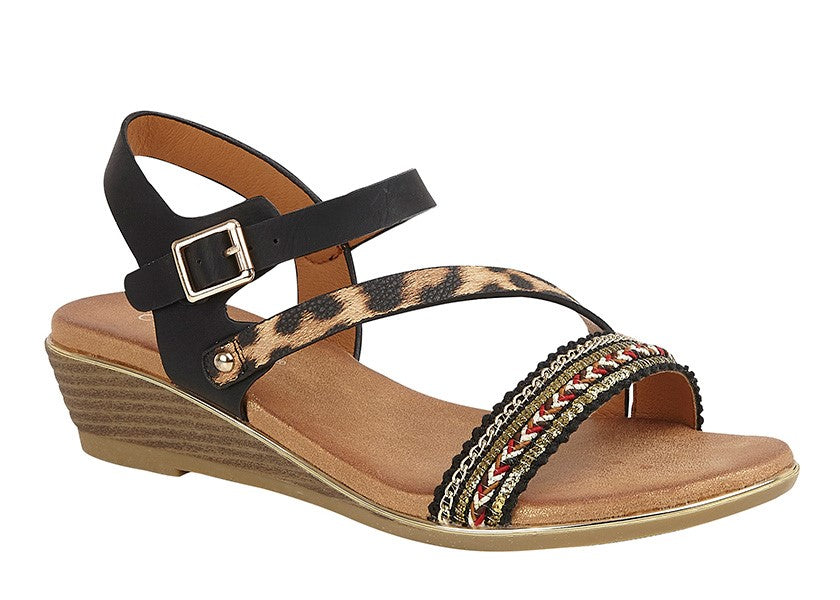 "Ladies Cipriata ""Fatina"" Wedge Sandal"